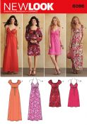 6096 New Look Pattern: Misses' Dresses